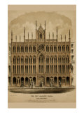 Symbols - Masonic Temple Philadelphia Print by D. Chillas