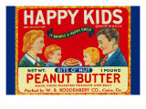 Happy Kids Bits O' Nut Peanut Butter Posters
