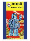 Robo - Movido a Pilhas Prints