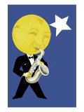 Moonlight Jazz Prints