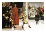 The Education of Children Clovis, Detail Posters by Sir Lawrence Alma-Tadema