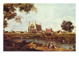 Eton College Posters by Canaletto