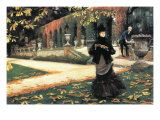 The Letter Came In Handy By Tissot Poster von James Tissot