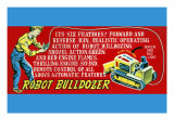 Robot Bulldozer - Six Features Prints