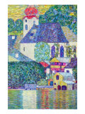 St. Wolfgang Church Prints by Gustav Klimt