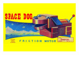 Space Dog Posters
