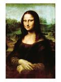 Mona Lisa, La Gioconda Poster von  Leonardo da Vinci