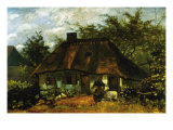Cottage Posters by Vincent van Gogh