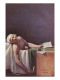 The Murdered Marat Posters by Jacques-Louis David