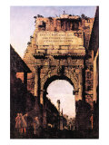 Arch If Titus, Rome Prints by  Canaletto