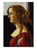Portrait of Simonetta Vespucci Poster by Sandro Botticelli