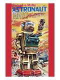 Swivel-O-Matic Astronaut Posters