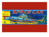 SP-1 Friction Space Car Posters