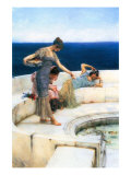 Silver Favorites Posters by Sir Lawrence Alma-Tadema