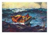 Storm Poster von Winslow Homer