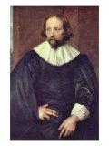 Portrait of Quintijn Simons Poster von Sir Anthony Van Dyck