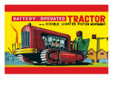 Battery Operated Tractor Prints