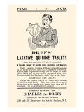 Dref's Lazative Quinine Tablets Posters