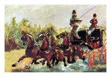 Count Alphonse De Toulouse-Lautrec Lámina por Henri de Toulouse-Lautrec