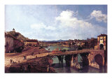 Turin Or Torino Prints by  Canaletto