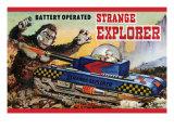 Strange Explorer Prints