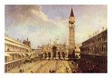 Plaza de San Marco Fotografía por  Canaletto