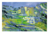 House In Provence Posters by Paul Cézanne