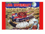 Luna Hovercraft Poster