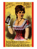 The Belle of The Ball - a Tale of Scovlls Syrup Prints