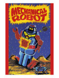 Mechanical Robot Posters