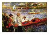 Oarsman of Chatou Poster by Pierre-Auguste Renoir