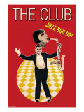 The Jazz Club Poster by Sara Pierce