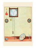 Clock and Plate Posters by Eugene Field