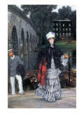 Return of The Boat Trip Poster by James Tissot