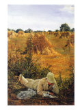 94 Degrees In The Shade Print by Sir Lawrence Alma-Tadema