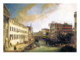 River of Mendicanti Prints by  Canaletto