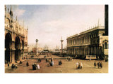 La Piazza Posters by  Canaletto
