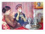 A Cup of Tea No.2 Kunstdrucke von Mary Cassatt