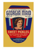Georgia Maid Sweet Pickles Prints