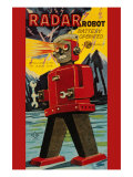 Radar Robot Posters