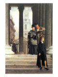 Visitors In London Prints by James Tissot