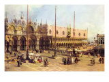 Piazza San Marco Posters af Canaletto