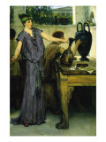 Pottery Painting Prints by Sir Lawrence Alma-Tadema