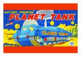 Planet Tank Prints