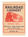 Railroad Liniment Art