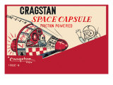 Cragstan Space Capsule Prints