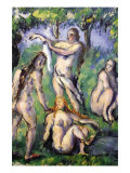 Bathers Prints by Paul Cézanne
