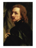 Portrait of Sir Endimion Porter Poster von Sir Anthony Van Dyck