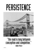 Persistence Poster by Wilbur Pierce