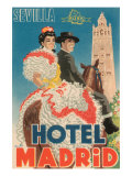Hotel Madrid Prints